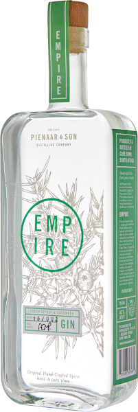 Pienaar & Son Distilling Co. Empire Gin