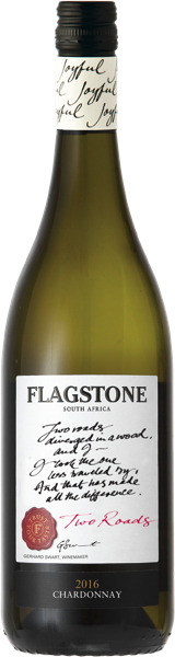 Flagstone Winery Flagstone Two Roads Chardonnay