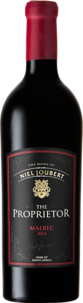 Niel Joubert estate  Niel Joubert Malbec The Proprietor