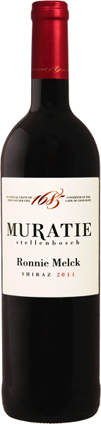 Muratie Wine Farm Ronnie Melck Shiraz