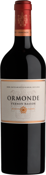 Ormonde Vineyards Ormonde Vernon Basson Red Blend