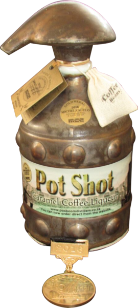 Posboom Potshot Caramel Coffee