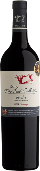 Perdeberg Cellar The Dry Land Collection Resolve Pinotage