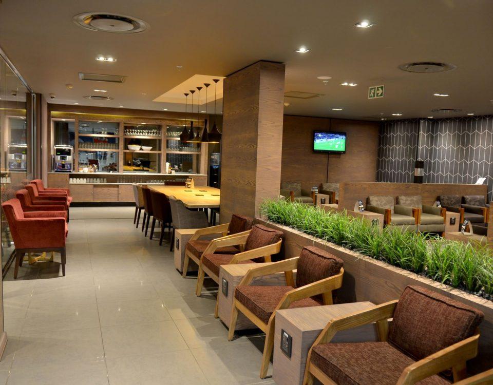 Bidvest Premier Lounge at Oliver Tambo Domestic